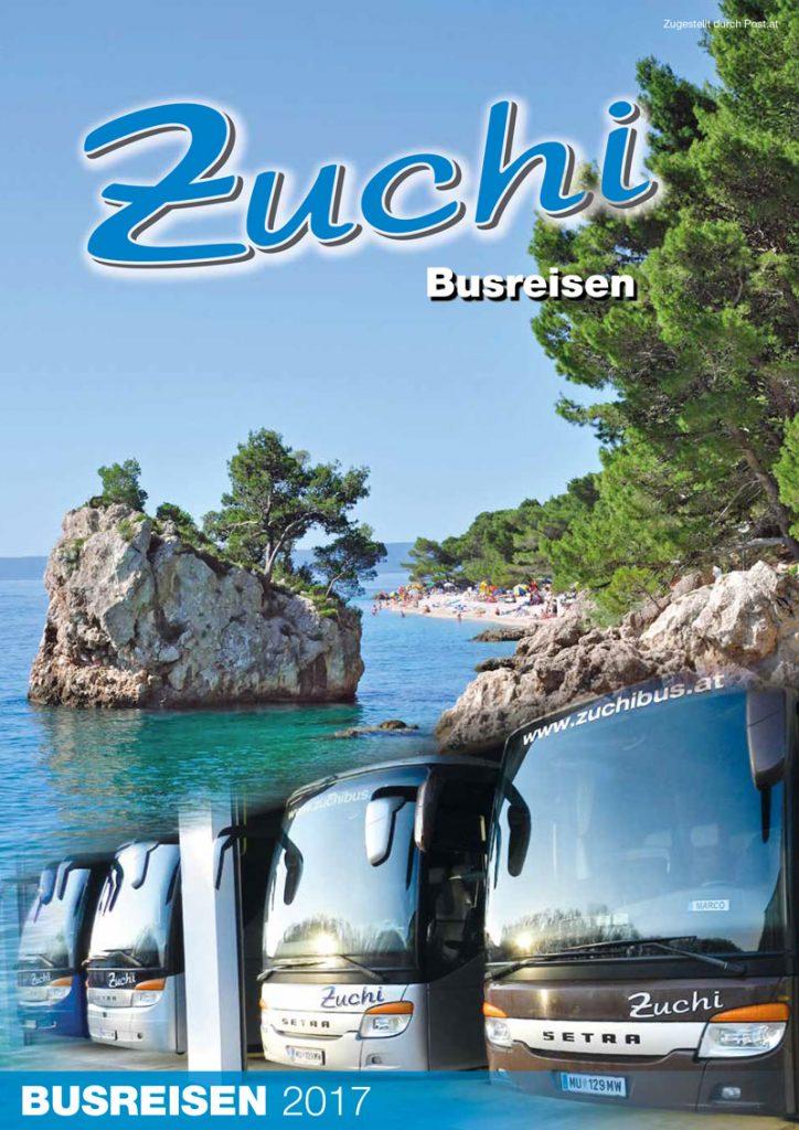 Zuchi Busreisen Katalog 2017