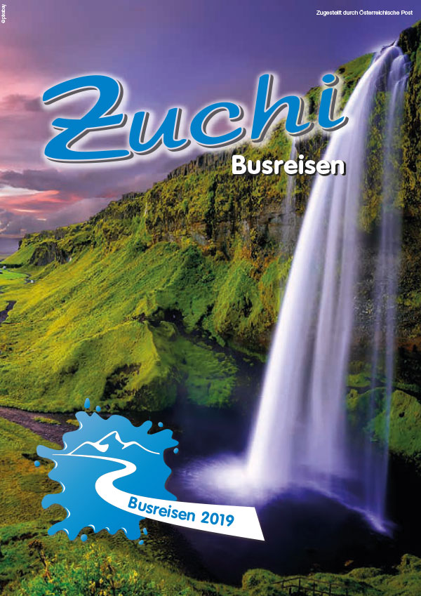 Zuchi Busreisen Katalog 2019
